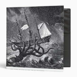 The Kraken 3 Ring Binder