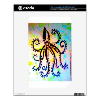 The Kraken NOOK Color Decals