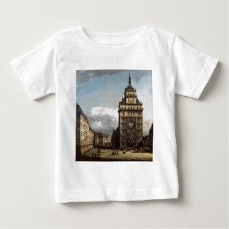 The Kreuzkirche in Dresden by Bernardo Bellotto Tee Shirt