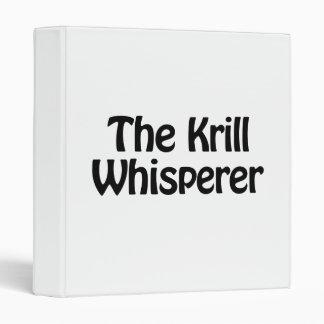 the krill whisperer binder