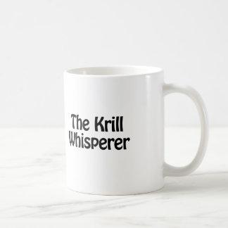 the krill whisperer coffee mug