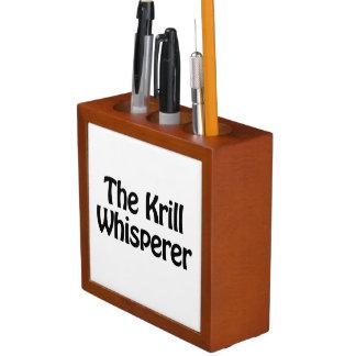 the krill whisperer desk organizer