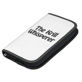 the krill whisperer planners
