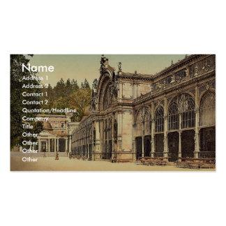 The Kruezbrunnen (i.e., Kreuzbrunnen) Colonnade, M Business Card