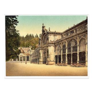 The Kruezbrunnen (i.e., Kreuzbrunnen) Colonnade, M Postcard