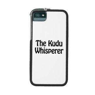 the kudu whisperer iPhone 5/5S cover