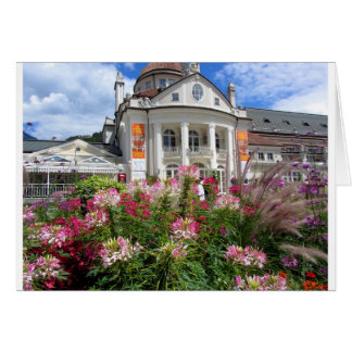 The Kurhaus of Meran, South Tyrol Card
