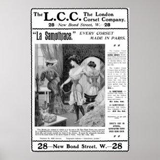 The L.C.C. London Corset Company ad print