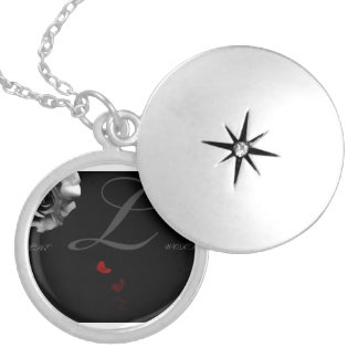 """The """"L""""Word Silver Plated Necklace"""