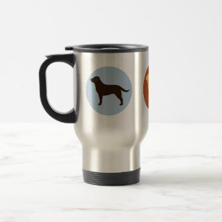 The Lab Collection 15 Oz Stainless Steel Travel Mug