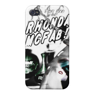 The Lab of Rhonda McFab! iphone case