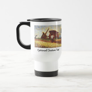The Laborers by Georges Seurat 15 Oz Stainless Steel Travel Mug