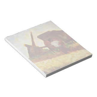 The Laborers by Georges Seurat Notepad