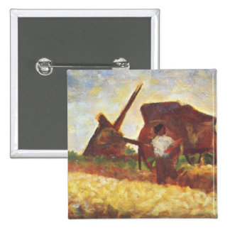 The Laborers by Georges Seurat Pins