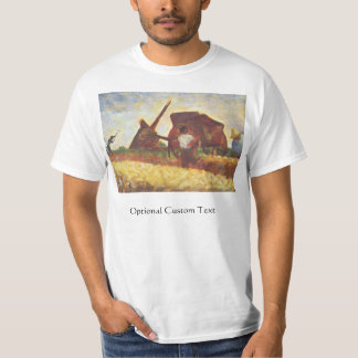 The Laborers by Georges Seurat T-Shirt