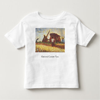 The Laborers by Georges Seurat Toddler T-shirt