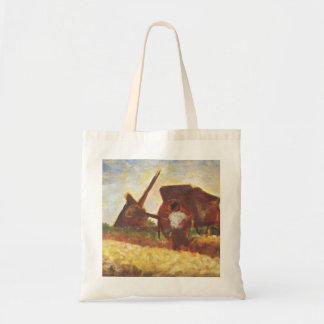 The Laborers by Georges Seurat Tote Bag