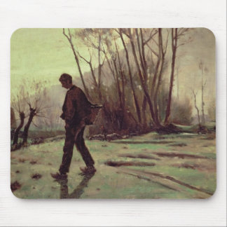The Labourer Mouse Pad