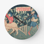 The Labours of the Months, Alsace (tapestry)Vict Round Wallclock
