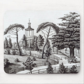 The Labyrinth from the Jardin des Plantes Mouse Pad