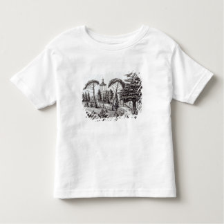 The Labyrinth from the Jardin des Plantes Toddler T-shirt