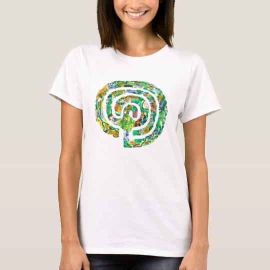 The Labyrinth Garden - Original Labyrinth Design T-Shirt