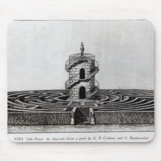 The Labyrinth of the Villa Pisani at Stra, after a Mousepad