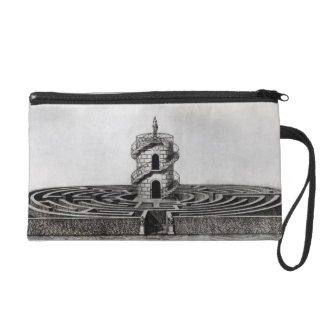 The Labyrinth of the Villa Pisani at Stra, after a Wristlet Purse