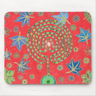 The Labyrinthian Tree of Life Mousepad