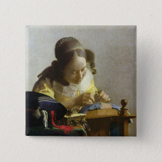 The Lacemaker, 1669-70 Button
