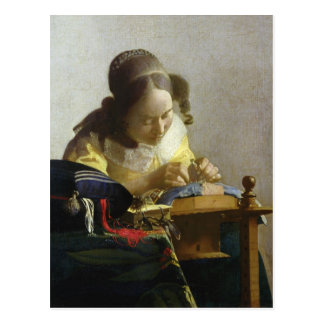 The Lacemaker 1669-70 Postcards