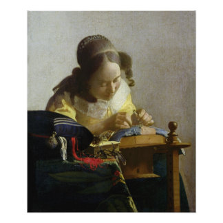 The Lacemaker, 1669-70 Poster