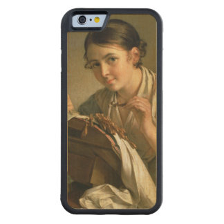The Lacemaker, 1823 Carved® Maple iPhone 6 Bumper