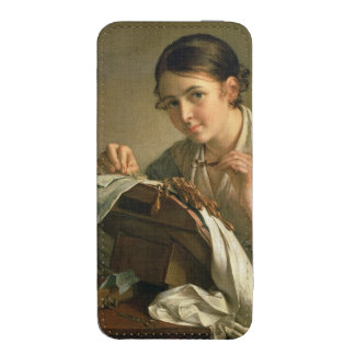 The Lacemaker, 1823 iPhone 5 Pouch