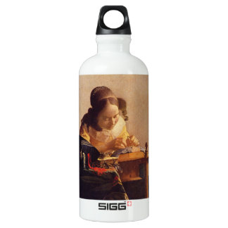 The Lacemaker by Johannes Vermeer SIGG Traveler 0.6L Water Bottle
