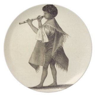 The Lad Taiyota, Native of Otaheite, in the Dress Dinner Plates