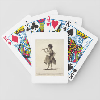 The Lad Taiyota, Native of Otaheite, in the Dress Bicycle Card Deck
