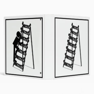 The Ladder of Success 3 Ring Binder