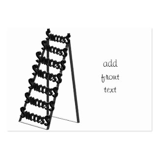 The Ladder of Success Business Cards
