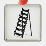 The Ladder of Success Christmas Tree Ornament