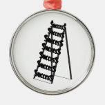 The Ladder of Success Christmas Tree Ornaments