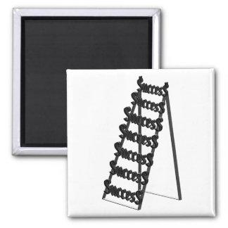 The Ladder of Success Fridge Magnets
