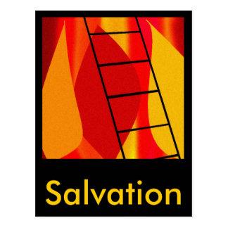 The Ladder Postcard
