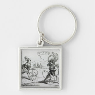 The Ladies Accelerator, 1819 Keychain