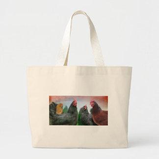 The Ladies - Chickens Jumbo Tote Bag