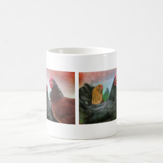 The Ladies - Chickens Classic White Coffee Mug