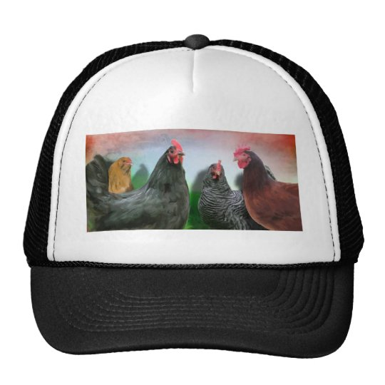 The Ladies - Chickens Trucker Hat