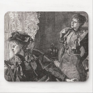 The Ladies In The Windows Of The Inn Mouse Pad