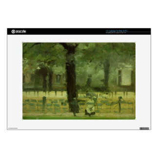 """The Ladie's Mile, Kensington Gardens (oil on panel Decal For 15"""" Laptop"""