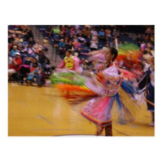 The Ladies' Turn PowWow Feather Dance Postcard